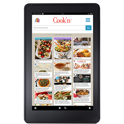 Cook'n Kindle Fire App