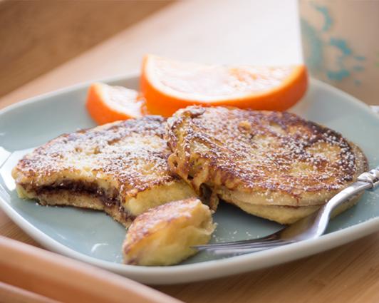 Oreo Stuffed French Toast Recipe — Dishmaps