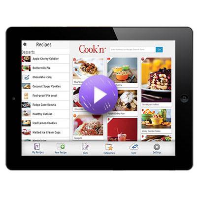 Cook'n iPad Mobile App