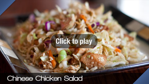 Play Chinese Chicken Salad Video