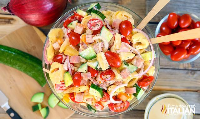 Hawaiian Tortellini Salad