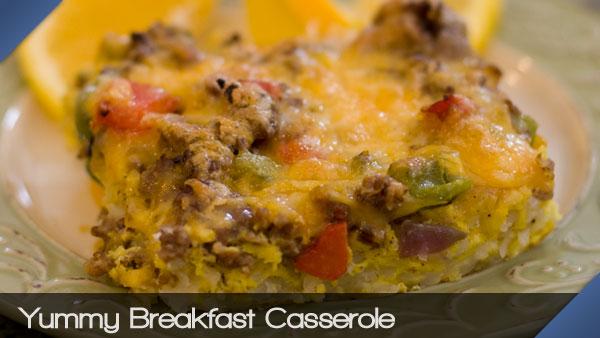 Yummy Breakfast Casserole
