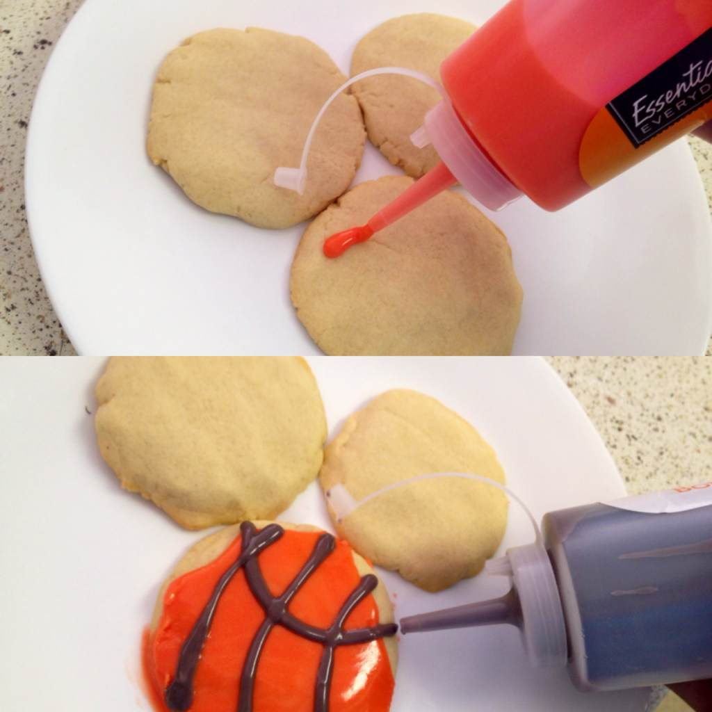 frosting can stay fresh for days after completing an afternoon of cookie decorating you can close the cap on the squeeze bottle and store the leftover - How To Decorate Cookies