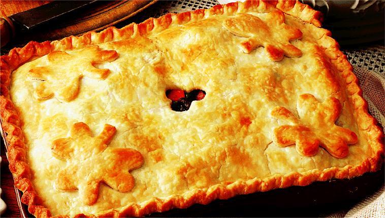 Steak And Onion Pie